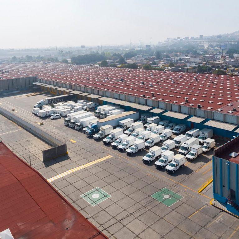 Flotilla de camiones